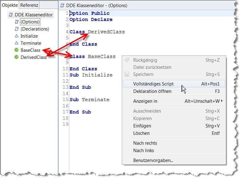 Image:Fehlerhafte Sortierung von LotusScript Code in Domino Designer für Eclipse